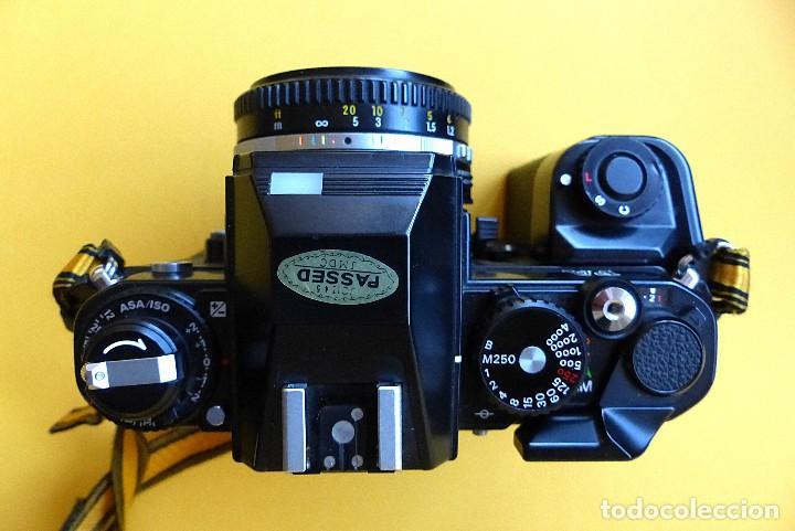 Cámara de fotos: CAMARA NIKON FA + NIKKOR 50 mm 1.8 + NIKKOR 28 mm + MOTOR + RESPALDO + correa Nikon - Foto 5 - 146175686