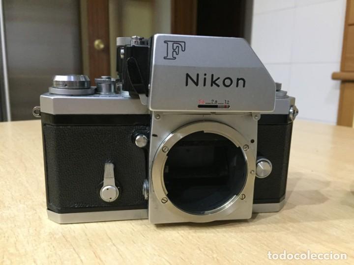 Cámara de fotos: NIKON F CON OBJETIVO NIKON 300MM 4.5 - Foto 4 - 146613018