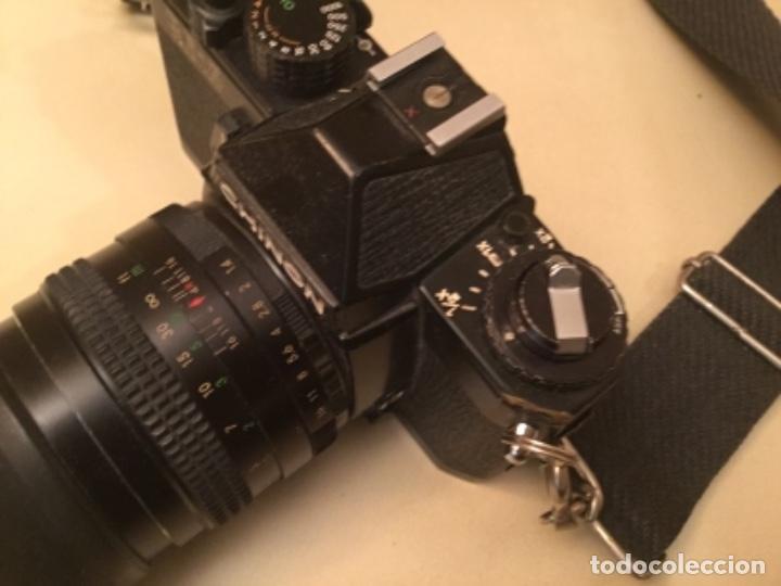 Cámara de fotos: Cámara Chinon con objetivo - Foto 5 - 147129106
