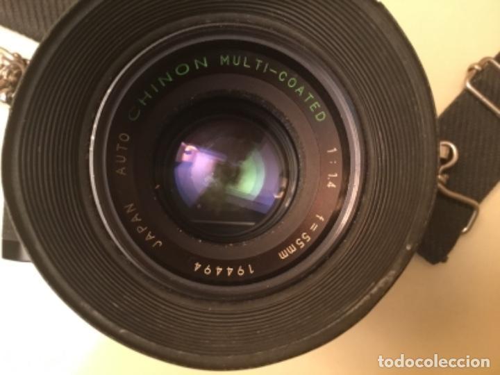 Cámara de fotos: Cámara Chinon con objetivo - Foto 8 - 147129106