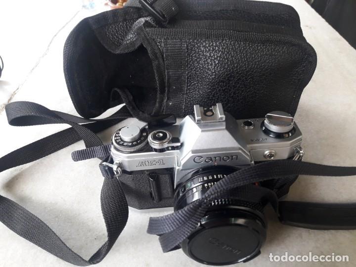 CANON AE-1 (Cámaras Fotográficas - Réflex (no autofoco))
