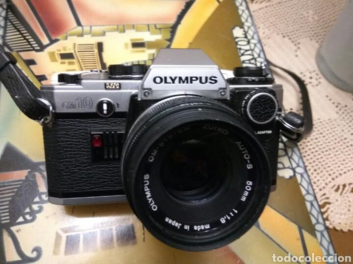 Fotokamera: CÁMARA FOTOS OLYMPUS OM-10 , ADAPTADOR+FUNDA+CORREA+FLASH.VER FOTOS - Foto 2 - 147624240