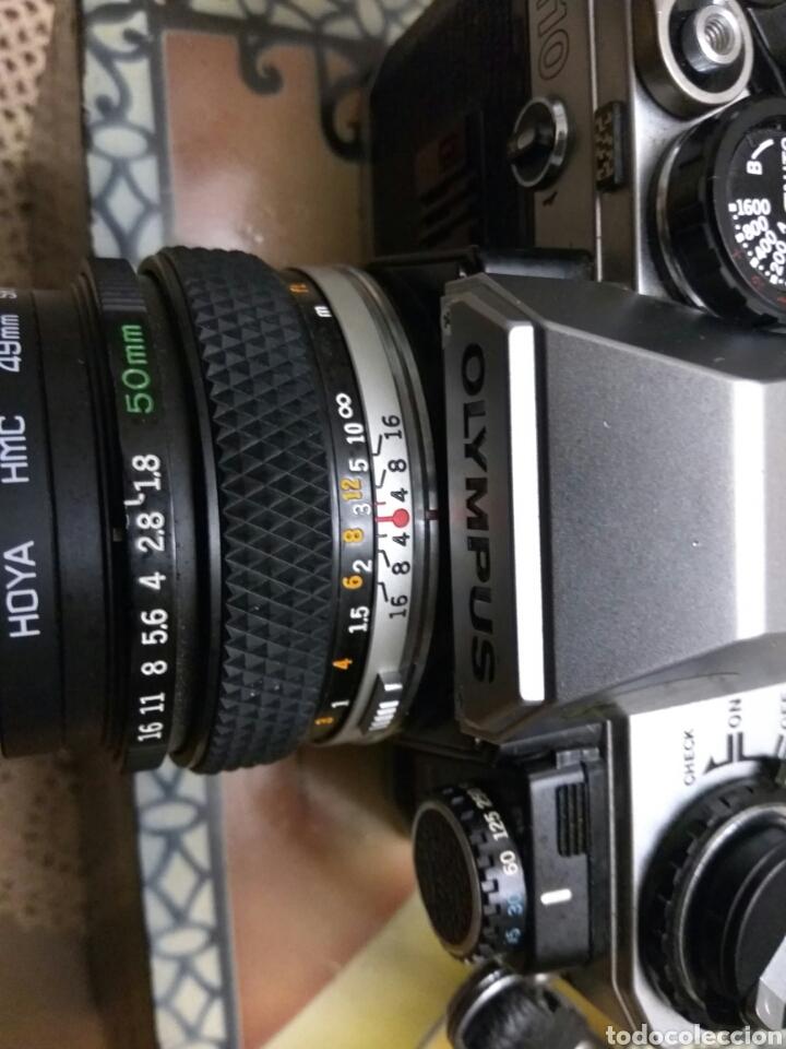 Fotokamera: CÁMARA FOTOS OLYMPUS OM-10 , ADAPTADOR+FUNDA+CORREA+FLASH.VER FOTOS - Foto 3 - 147624240