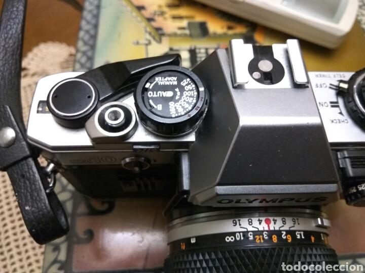 Fotokamera: CÁMARA FOTOS OLYMPUS OM-10 , ADAPTADOR+FUNDA+CORREA+FLASH.VER FOTOS - Foto 4 - 147624240