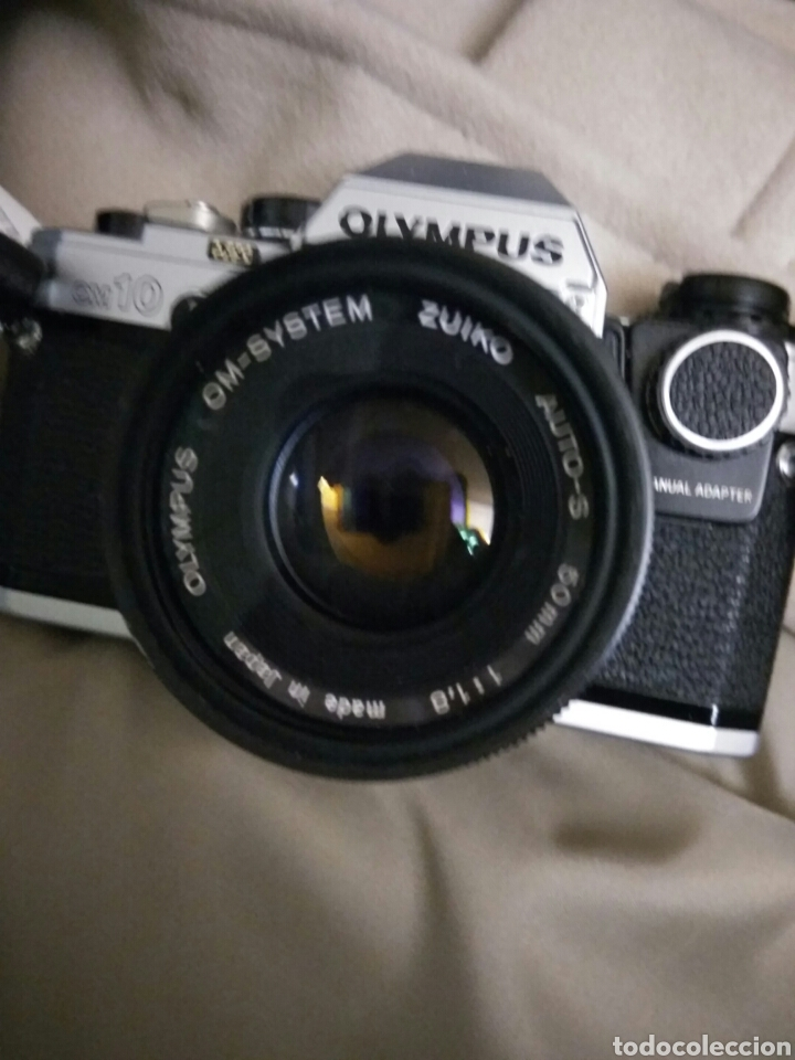 Fotokamera: CÁMARA FOTOS OLYMPUS OM-10 , ADAPTADOR+FUNDA+CORREA+FLASH.VER FOTOS - Foto 6 - 147624240
