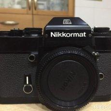 Cámara de fotos: NIKKORMAT EL. Lote 147904502