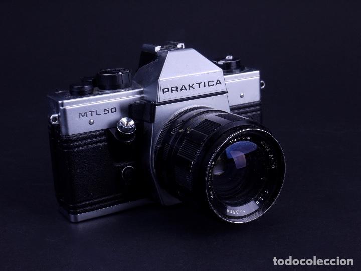 Cámara praktica mtl 50. alemania 1985 buy reflex cameras without