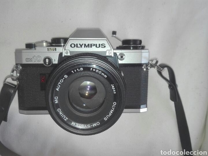 Cámara de fotos: camara fotos reflex olympus om10-om 10+objetivo zuiko 50 mm+maletin y manual - Foto 2 - 150087469