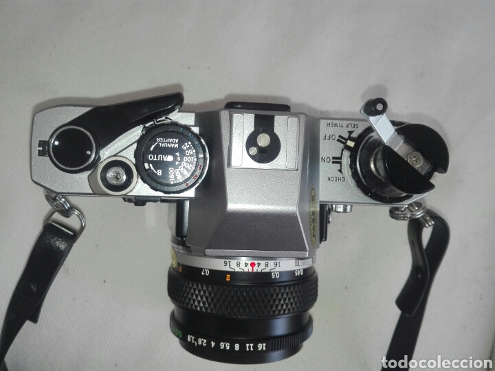 Cámara de fotos: camara fotos reflex olympus om10-om 10+objetivo zuiko 50 mm+maletin y manual - Foto 3 - 150087469