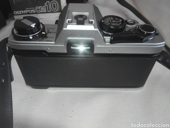 Cámara de fotos: camara fotos reflex olympus om10-om 10+objetivo zuiko 50 mm+maletin y manual - Foto 5 - 150087469