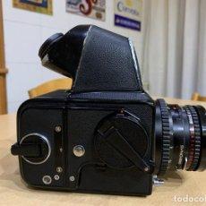 Cámara de fotos: HASSELBLAD 500 CM CON PRISMA NC2 Y CHASIS HASSELBLAD 16-S OBJETIVO PLANAR 80 MM 2.8. Lote 150143530