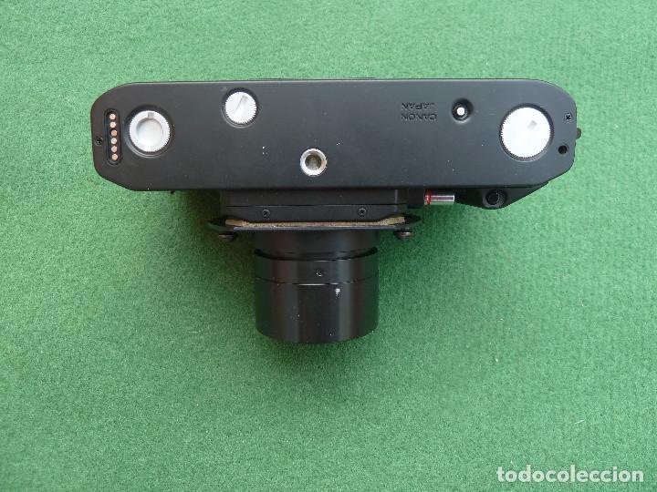 Cámara de fotos: Antigua cámara de fotos Canon F-1, versión Telefónica - Foto 5 - 150967638