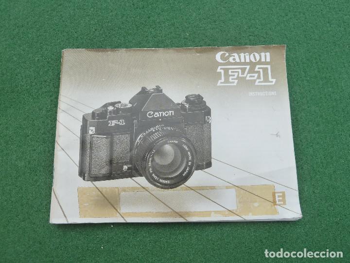 Cámara de fotos: Antigua cámara de fotos Canon F-1, versión Telefónica - Foto 13 - 150967638