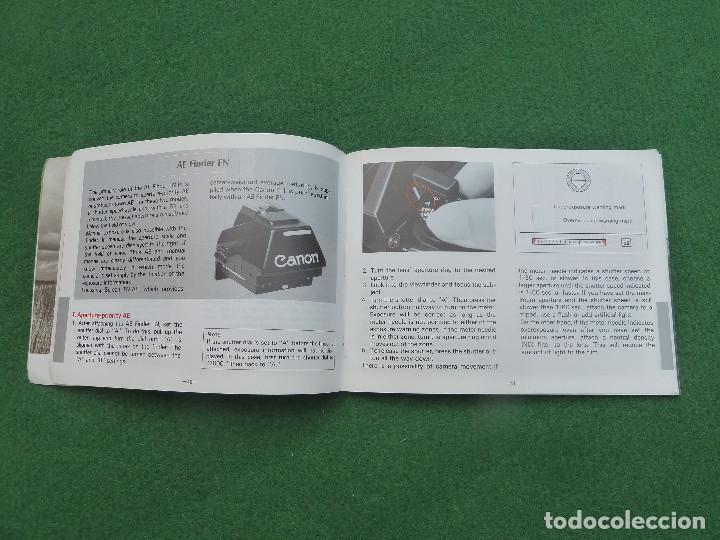 Cámara de fotos: Antigua cámara de fotos Canon F-1, versión Telefónica - Foto 14 - 150967638