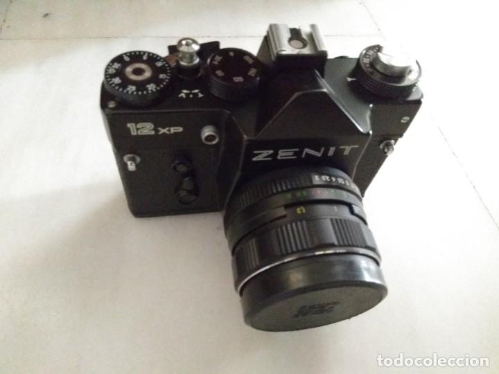 CAMARA ZENIT 12 XP + ESTUCHE + HELIOS 44MM-4 (Cámaras Fotográficas - Réflex (no autofoco))