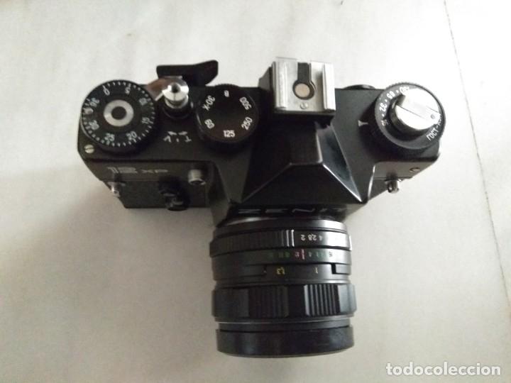 Cámara de fotos: CAMARA ZENIT 12 XP + ESTUCHE + HELIOS 44MM-4 - Foto 3 - 41303689