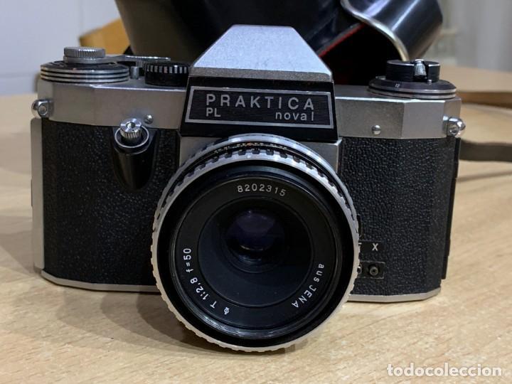 PRAKTICA PL NOVA I OBJETIVO AUS JENA 50 2.8 (Cámaras Fotográficas - Réflex (no autofoco))