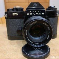 Cámara de fotos: PENTAX ES CON OBJETIVO TAKUMAR 55MM 1.8. Lote 153334150