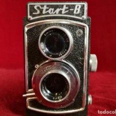 Cámara de fotos: CAMARA REFLEX TLR CLASICA START B PARA 6 X 6 EN 120 (1954) MUY RARA !!!!!!!! OPORTUNIDAD !!!!!!. Lote 155287938