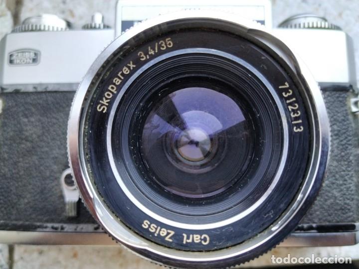 Cámara de fotos: CAMARA ZEISS IKON - ICAREX 35S - TM - Foto 13 - 100657735