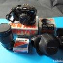 Cámara de fotos: LOTE PENTAX SUPER A (REFLEX ANALÓGICA). Lote 160162298