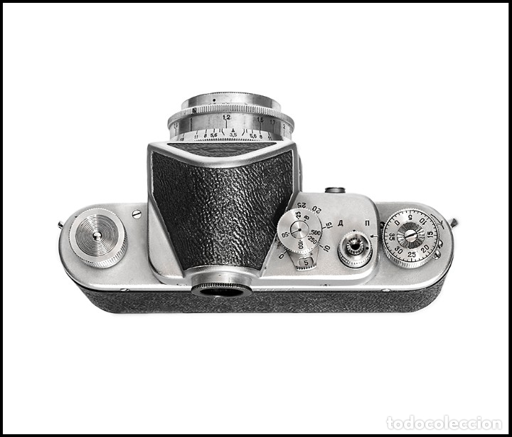 Cámara de fotos: ZENIT C - EXQUISITA REFLEX SOVIETICA DE 1955. EN EXCELENTE ESTADO DE CONSERVACION. - Foto 3 - 160445118