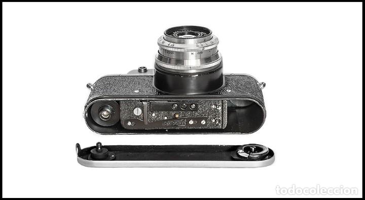 Cámara de fotos: ZENIT C - EXQUISITA REFLEX SOVIETICA DE 1955. EN EXCELENTE ESTADO DE CONSERVACION. - Foto 7 - 160445118