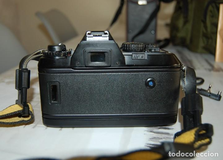 Cámara de fotos: CAMARA NIKON F-301 + OBJETIVO 75-200MM + FLASH + MALETA + COMPLEMENTOS - Foto 5 - 161451410