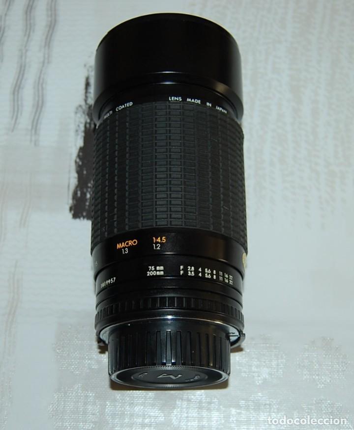 Cámara de fotos: CAMARA NIKON F-301 + OBJETIVO 75-200MM + FLASH + MALETA + COMPLEMENTOS - Foto 10 - 161451410