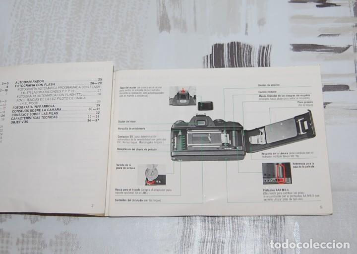 Cámara de fotos: CAMARA NIKON F-301 + OBJETIVO 75-200MM + FLASH + MALETA + COMPLEMENTOS - Foto 11 - 161451410