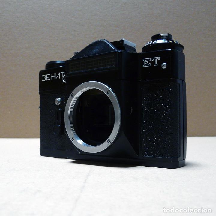 Cámara de fotos: CAMARA REFLEX ANALOGICA ZENIT ET - Foto 3 - 161682390