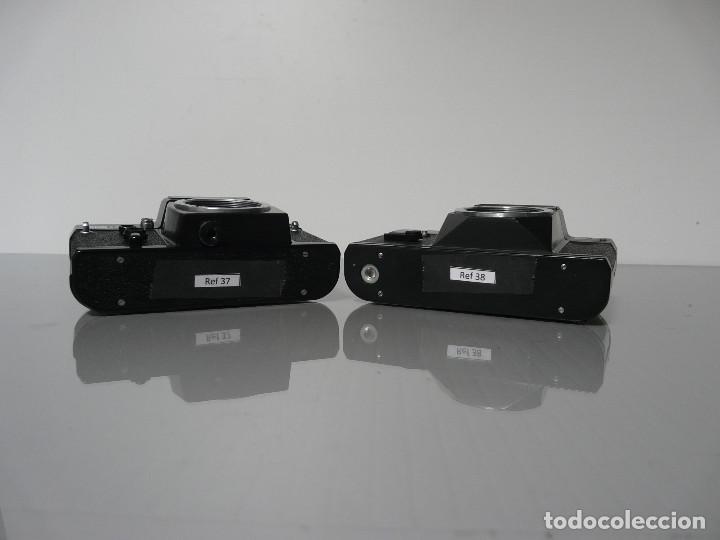 Cámara de fotos: DOS (2) CAMARAS REFLEX ANALOGICA ZENIT 12XP + ET DEFECTUOSAS - LOTE 2 - Foto 6 - 161684686