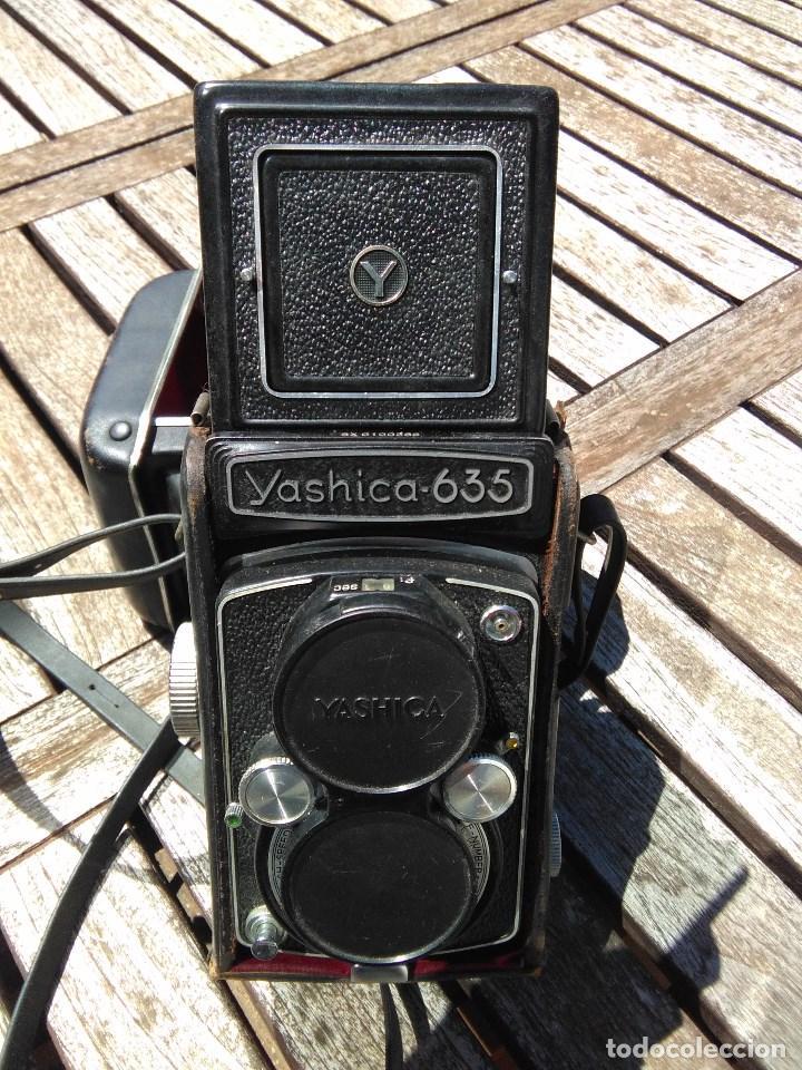 CAMARA YASHICA 635 COMPLETA CON ESTUCHE (Cámaras Fotográficas - Réflex (no autofoco))
