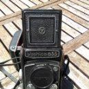 Cámara de fotos: CAMARA YASHICA 635 COMPLETA CON ESTUCHE. Lote 162561802