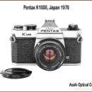 Cámara de fotos: PENTAX K1000 UNA ESPLENDIDA REFLEX JAPONESA DE 1976. EN EXTRAORDINARIO ESTADO DE CONSERVACION.. Lote 163902206