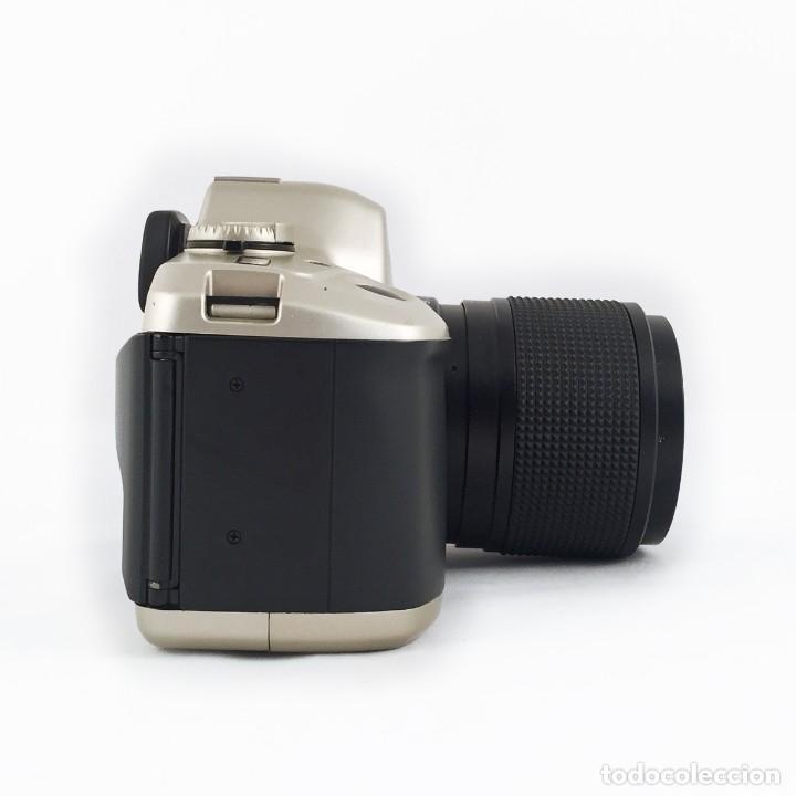 Cámara de fotos: YASHICA 109 Multiprogram SLR 35mm Kyocera + Zoom 35-70, 3.5-4.5 + accesorios - Foto 4 - 164467550