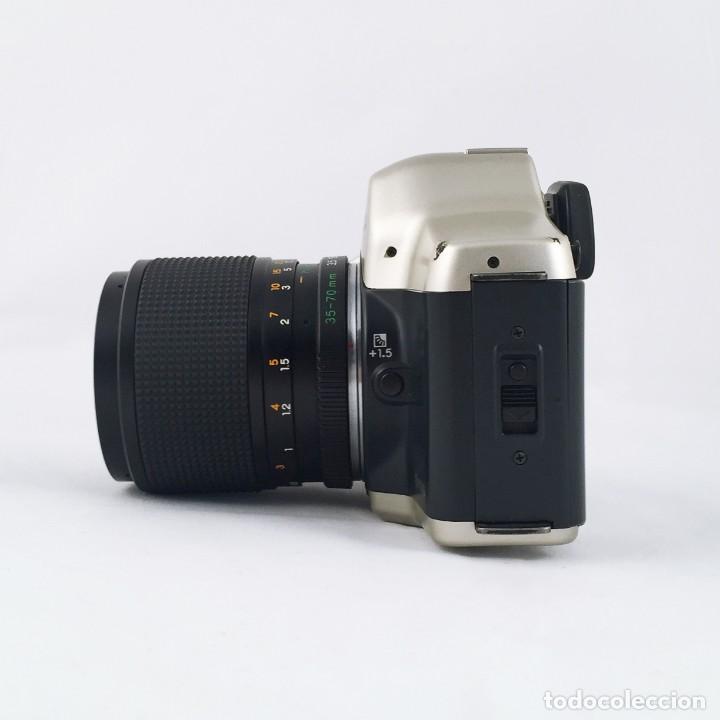 Cámara de fotos: YASHICA 109 Multiprogram SLR 35mm Kyocera + Zoom 35-70, 3.5-4.5 + accesorios - Foto 6 - 164467550