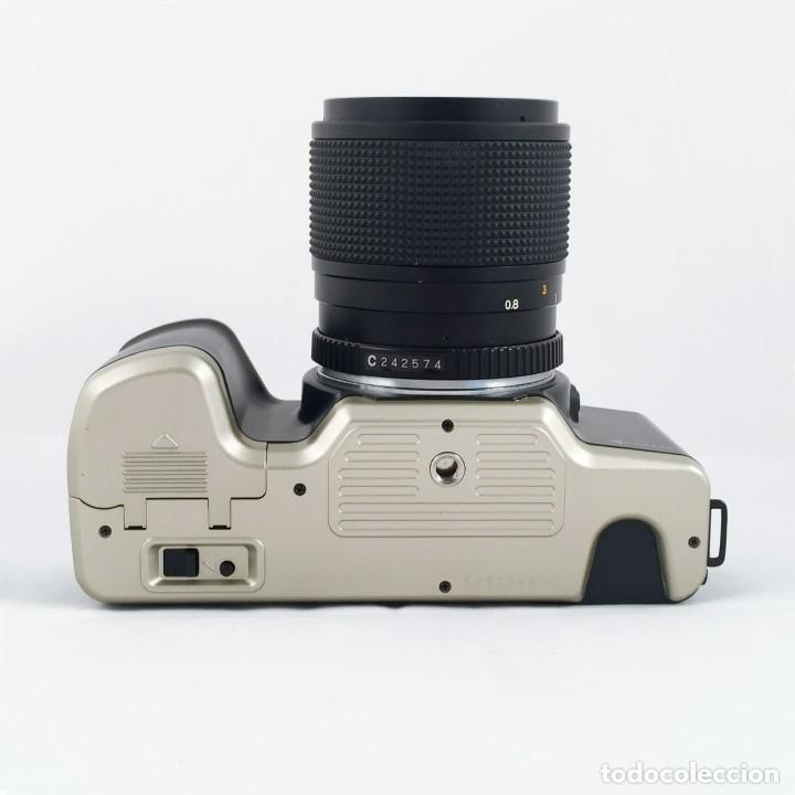 Cámara de fotos: YASHICA 109 Multiprogram SLR 35mm Kyocera + Zoom 35-70, 3.5-4.5 + accesorios - Foto 10 - 164467550