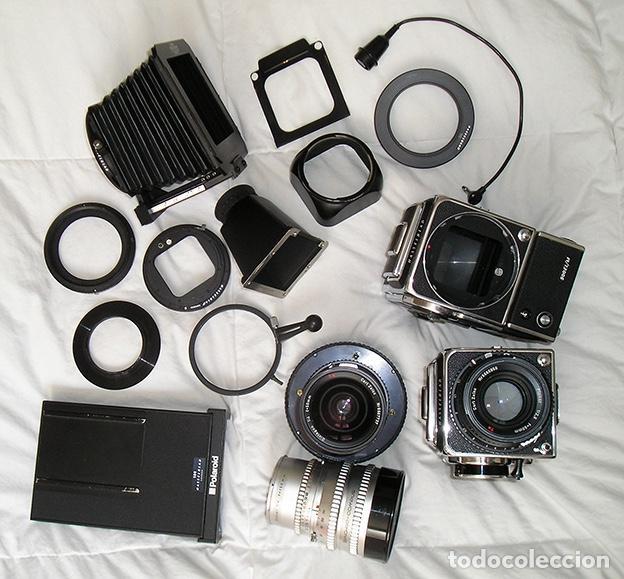 Cámara de fotos: Hasselblad 500C + Hasselblad EL/M + Planar 80 mm + Distagon 50mm + Sonnar 150 mm + otros - Foto 2 - 166119562