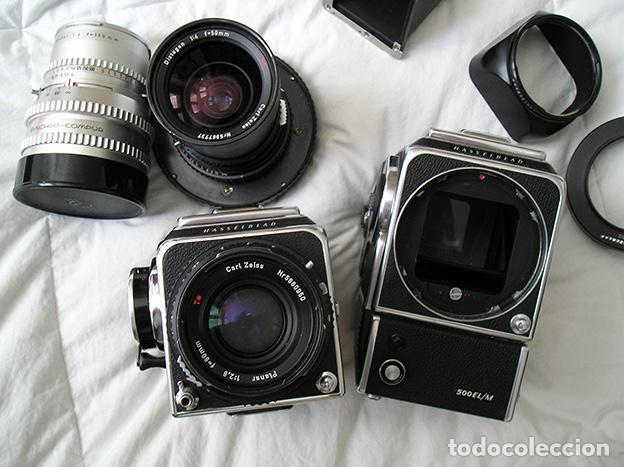 Cámara de fotos: Hasselblad 500C + Hasselblad EL/M + Planar 80 mm + Distagon 50mm + Sonnar 150 mm + otros - Foto 3 - 166119562