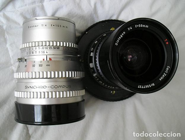 Cámara de fotos: Hasselblad 500C + Hasselblad EL/M + Planar 80 mm + Distagon 50mm + Sonnar 150 mm + otros - Foto 4 - 166119562