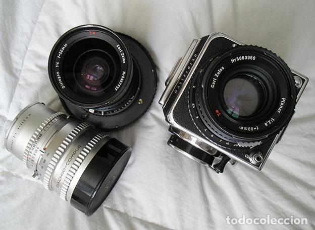 Cámara de fotos: Hasselblad 500C + Hasselblad EL/M + Planar 80 mm + Distagon 50mm + Sonnar 150 mm + otros - Foto 5 - 166119562