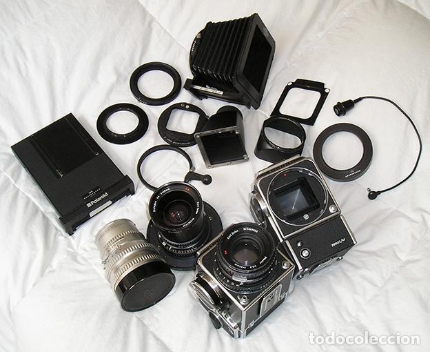 Cámara de fotos: Hasselblad 500C + Hasselblad EL/M + Planar 80 mm + Distagon 50mm + Sonnar 150 mm + otros - Foto 8 - 166119562