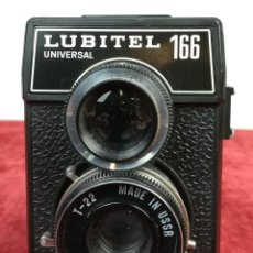 Cámara de fotos: CÁMARA FOTOGRÁFICA. LUBITEL 166 UNIVERSAL. LOMO (CIRCA 1980) UNIÓN SOVIÉTICA. Lote 166527866