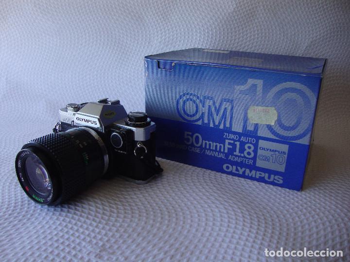 ANTIGUA EH IMPECABLE CAMARA DE FOTOS OLYMPUS OM 10 (Cámaras Fotográficas - Réflex (no autofoco))