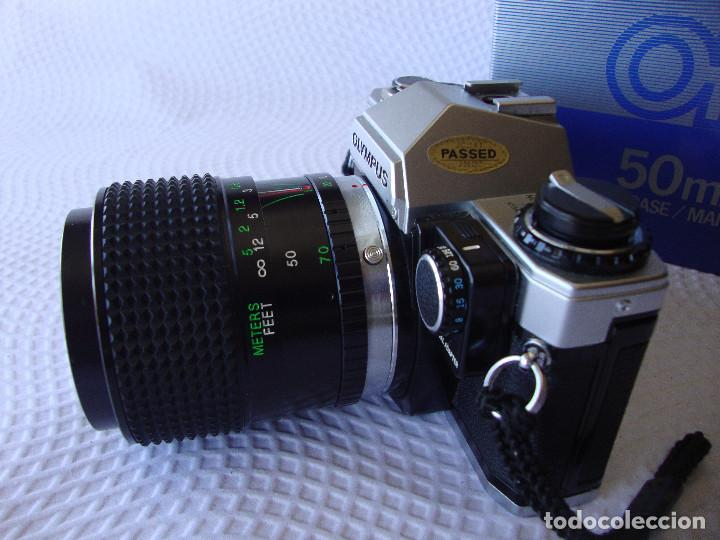 Cámara de fotos: ANTIGUA EH IMPECABLE CAMARA DE FOTOS OLYMPUS OM 10 - Foto 3 - 166536866
