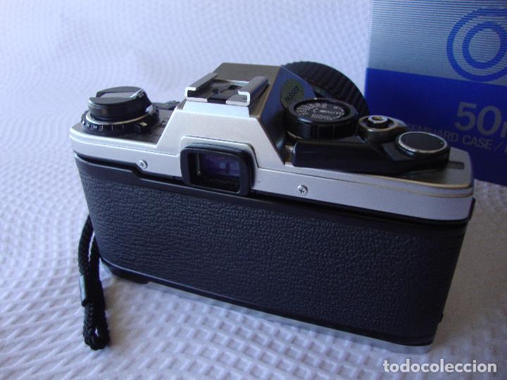 Cámara de fotos: ANTIGUA EH IMPECABLE CAMARA DE FOTOS OLYMPUS OM 10 - Foto 4 - 166536866