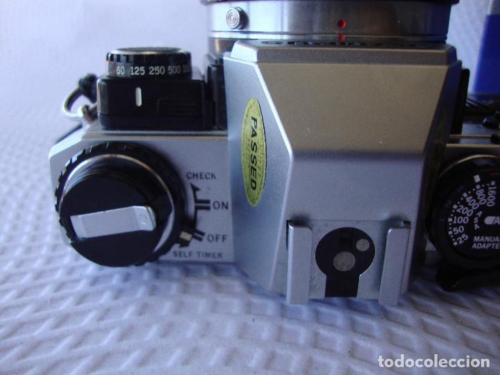Cámara de fotos: ANTIGUA EH IMPECABLE CAMARA DE FOTOS OLYMPUS OM 10 - Foto 6 - 166536866