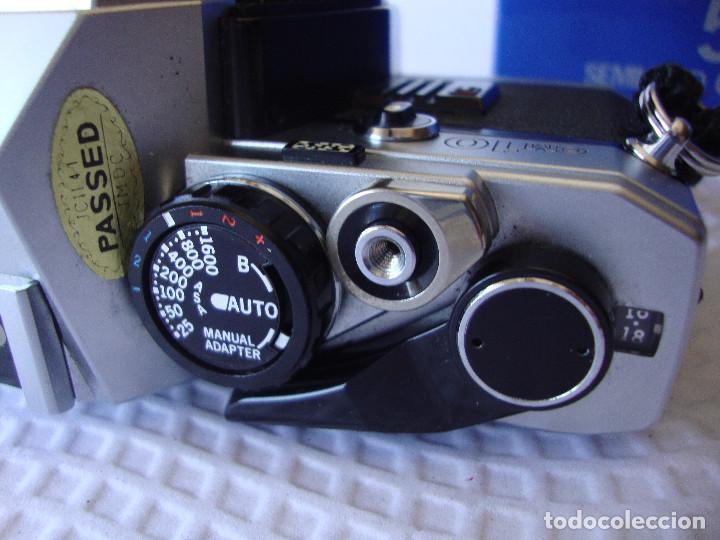 Cámara de fotos: ANTIGUA EH IMPECABLE CAMARA DE FOTOS OLYMPUS OM 10 - Foto 7 - 166536866