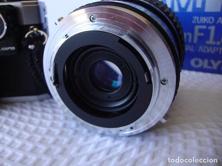 Cámara de fotos: ANTIGUA EH IMPECABLE CAMARA DE FOTOS OLYMPUS OM 10 - Foto 9 - 166536866